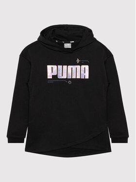 Puma Puma Bluza Alpha Elongated 586175 Czarny Regular Fit