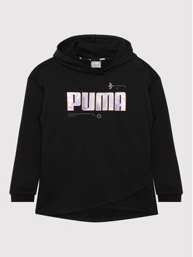 Puma Puma Pulóver Alpha Elongated 586175 Fekete Regular Fit