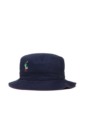 Polo Ralph Lauren Polo Ralph Lauren Klobouk bucket hat Rev Bucket 322844894001 Tmavomodrá