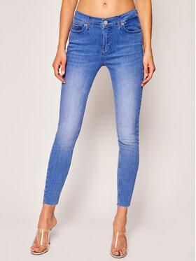 Tommy Jeans Tommy Jeans Blugi Skinny Fit Nora Ankle DW0DW08206 Albastru Skinny Fit