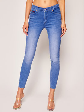 Tommy Jeans Tommy Jeans Skinny Fit Jeans Nora Ankle DW0DW08206 Blau Skinny Fit
