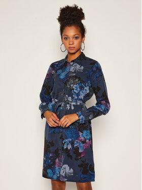 Desigual Desigual Robe chemise Florencia 20WWVW78 Bleu marine Regular Fit
