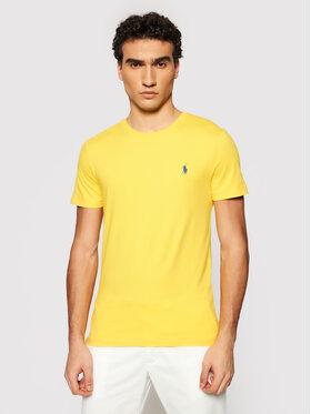 Polo Ralph Lauren Polo Ralph Lauren T-shirt Ssl 710671438209 Jaune Regular Fit