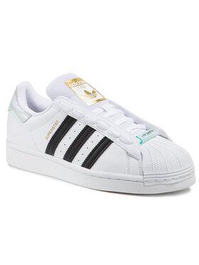 adidas adidas Chaussures Superstar W FY5132 Blanc