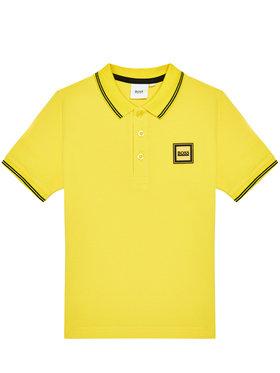 Boss Boss Polo J25L14 M Żółty Regular Fit