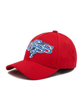 Guess Guess Kepurė su snapeliu Delsin Logo ABDEL1 CO213 Raudona