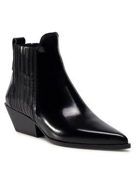 Furla Furla Kotníková obuv s elastickým prvkem West YD31FWT-T20000-O6000-1-007-20-IT Černá