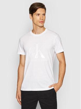 Calvin Klein Jeans Calvin Klein Jeans Тишърт J30J317508 Бял Regular Fit