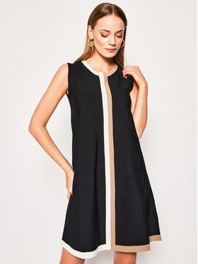Luisa Spagnoli Luisa Spagnoli Úpletové šaty Clessidra 568774 Čierna Regular Fit
