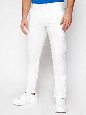 North Sails North Sails Spodnie materiałowe Chino 672895 Biały Slim Fit