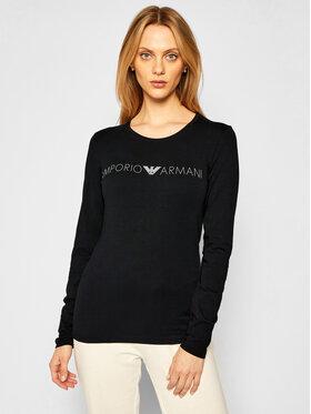 Emporio Armani Underwear Emporio Armani Underwear Bluse 163229 0A317 00020 Schwarz Regular Fit