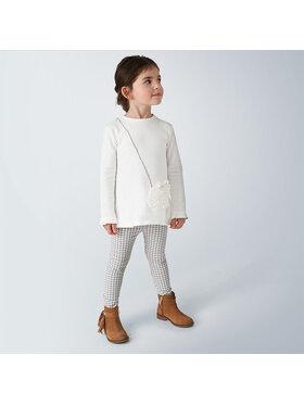 Mayoral Mayoral Komplet sweter i spodnie materiałowe 4723 Kolorowy Regular Fit