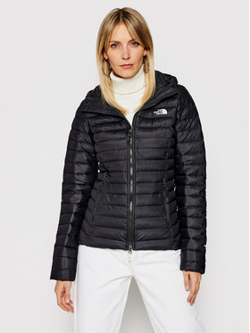 The North Face The North Face Pehelykabát Stretch Down NF0A4R4KJK31 Fekete Regular Fit