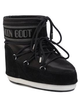 Moon Boot Moon Boot Śniegowce Classic Low Satin 140893001 Czarny
