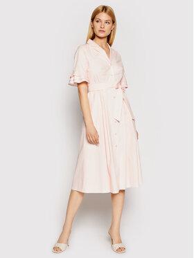 DKNY DKNY Každodenní šaty DD1B3361 Růžová Regular Fit