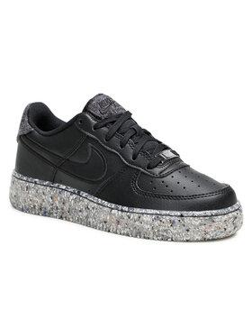 Nike Nike Topánky Air Force 1 Ksa Gs DB2813 001 Čierna