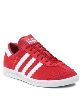 adidas adidas Buty Hamburg J GZ7410 Czerwony