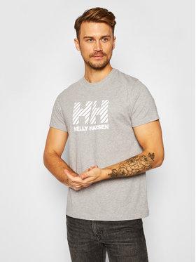 Helly Hansen Helly Hansen T-Shirt Active 53428 Šedá Regular Fit