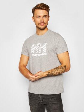 Helly Hansen Helly Hansen T-Shirt Active 53428 Szary Regular Fit