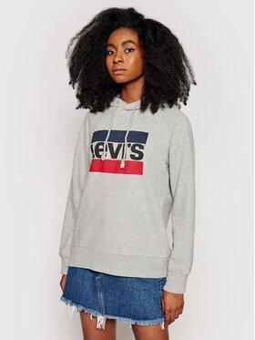 Levi's® Levi's® Bluza Graphic Sport 35946-0000 Szary Regular Fit
