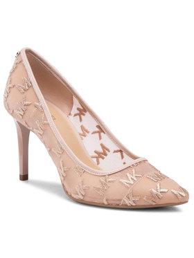MICHAEL Michael Kors MICHAEL Michael Kors Pantofi cu toc subțire Dorothy 40S1DOMP2D Bej