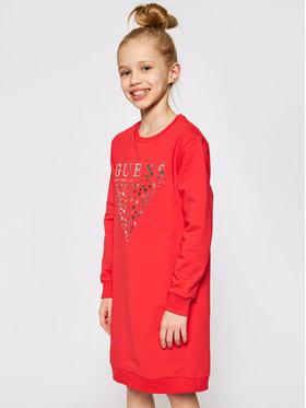 Guess Guess Každodenné šaty J0BK07 K82Z0 Červená Regular Fit