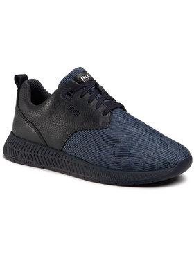 Boss Boss Sneakersy Titanium 50446672 10232897 01 Tmavomodrá