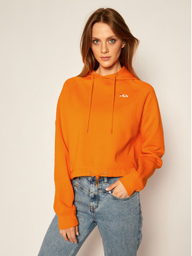 Fila Fila Sweatshirt Elaxi Cropped 687992 Orange Loose Fit