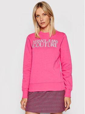 Versace Jeans Couture Versace Jeans Couture Bluza R Logo Embro 71HAIT01 Różowy Regular Fit
