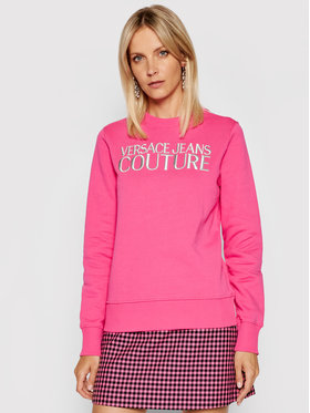 Versace Jeans Couture Versace Jeans Couture Sweatshirt R Logo Embro 71HAIT01 Rosa Regular Fit