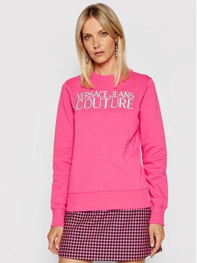 Versace Jeans Couture Versace Jeans Couture Sweatshirt R Logo Embro 71HAIT01 Rose Regular Fit