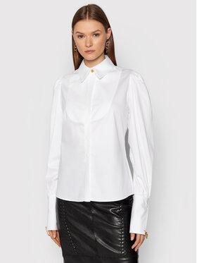 Elisabetta Franchi Elisabetta Franchi Marškiniai CA-323-16E2-V370 Balta Slim Fit