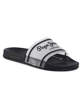 Pepe Jeans Pepe Jeans Чехли Slider Translucent PMS70080 Бял