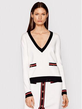 Liu Jo Liu Jo Sweater CA1242 MA03L Fehér Regular Fit
