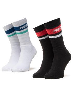 PROSTO. PROSTO. Комплект 2 чифта дълги чорапи мъжки 9101 Черен