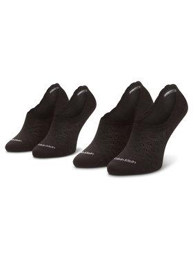 Calvin Klein Calvin Klein Lot de 2 paires de socquettes femme 100001799 Noir