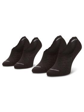 Calvin Klein Calvin Klein Sada 2 párů dámských ponožek 100001799 Černá