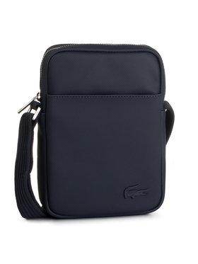 Lacoste Lacoste Sacoche Slim Vertical Camera Bag NH2340HC Bleu marine