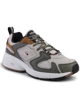 Tommy Jeans Tommy Jeans Laisvalaikio batai Heritage Sneaker EM0EM00373 Smėlio