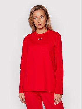 MSGM MSGM Блуза 2000MDM501 200002 Червен Regular Fit
