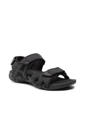 4F 4F Sandále H4L21-SAM002 20S Čierna
