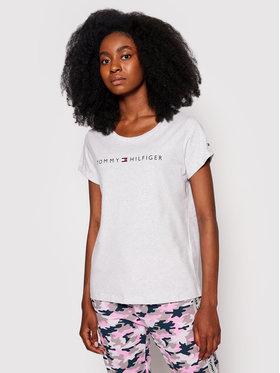 Tommy Hilfiger Tommy Hilfiger T-Shirt Rn Tee Ss Logo UW0UW01618 Γκρι Regular Fit