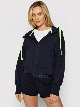 4F 4F Sweatshirt H4L21-BLD015 Dunkelblau Regular Fit