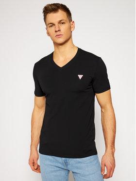 Guess Guess T-Shirt M1RI32 J1311 Černá Super Slim Fit
