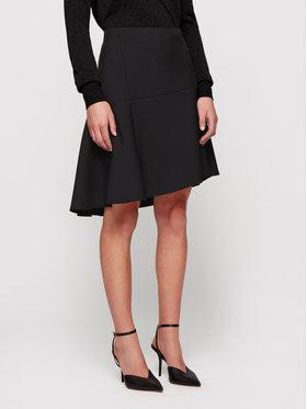 Boss Boss Trapézová sukňa Vasty 50442734 Čierna Regular Fit