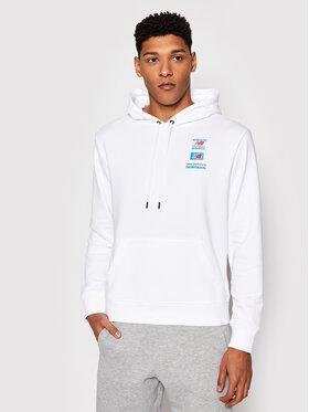 New Balance New Balance Sweatshirt Essentials Field Day MT11514 Blanc Relaxed Fit
