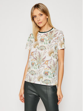 Marella Marella T-Shirt Conico 39710111 Beżowy Regular Fit