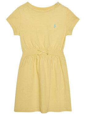 Polo Ralph Lauren Polo Ralph Lauren Každodenní šaty Play 311837203008 Žlutá Regular Fit
