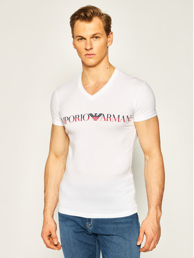 Emporio Armani Underwear Emporio Armani Underwear Тишърт 110810 0P516 00010 Бял Regular Fit