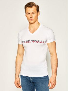 Emporio Armani Underwear Emporio Armani Underwear Tricou 110810 0P516 00010 Alb Regular Fit